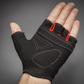 GripGrab X-Trainer Short Finger Gloves Kids Barn red